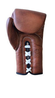 OLDSCHOOL Lace Up - Vintage Leather Boxing Gloves - Boxing