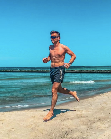 Marek Soremski's goal is to compete in an Ironman race on his 40th birthday.