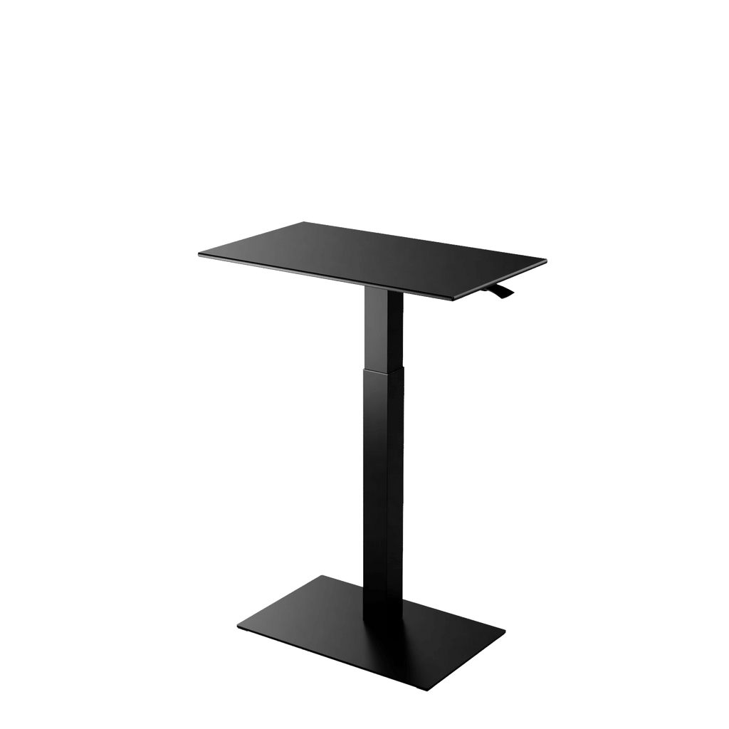 Height adjustable desk Mahtuva M Black is good choice for remote workers by Selkastore