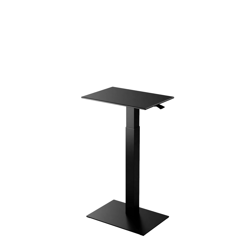 Height adjustable desk Mahtuva S Black is good choice for remote workers by Selkastore