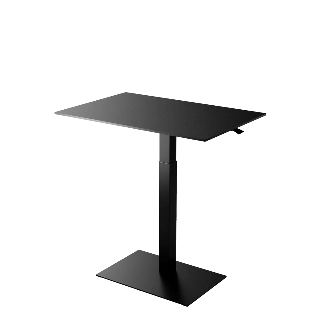 Height adjustable desk Mahtuva XL Black is good choice for remote workers by Selkastore
