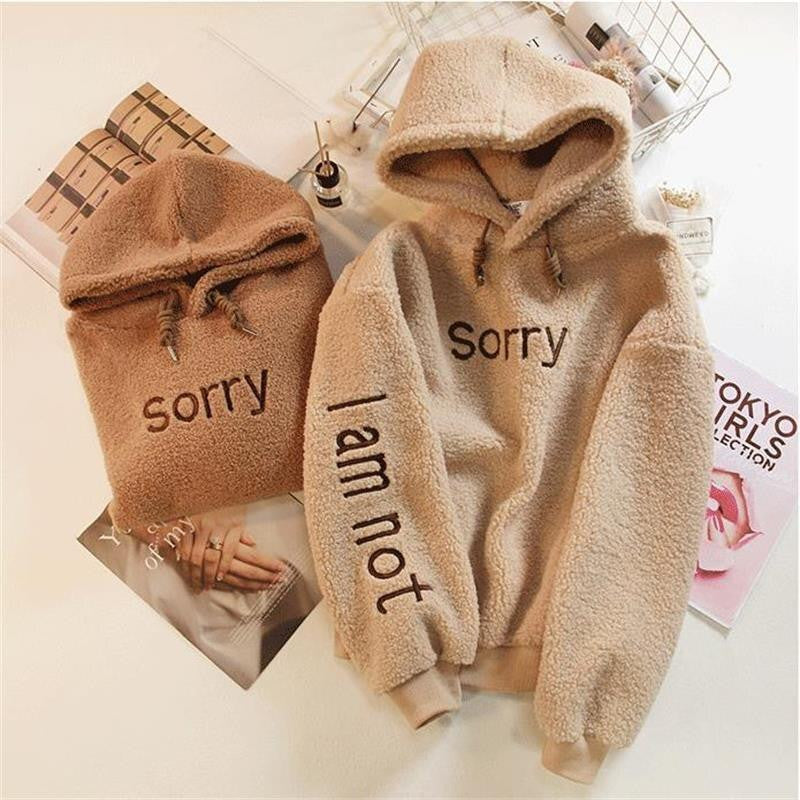 """Not Sorry"" - Hoodiehoodstore"