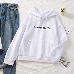 """Made In The 80s"" Hoodie - Hoodiehoodstore"