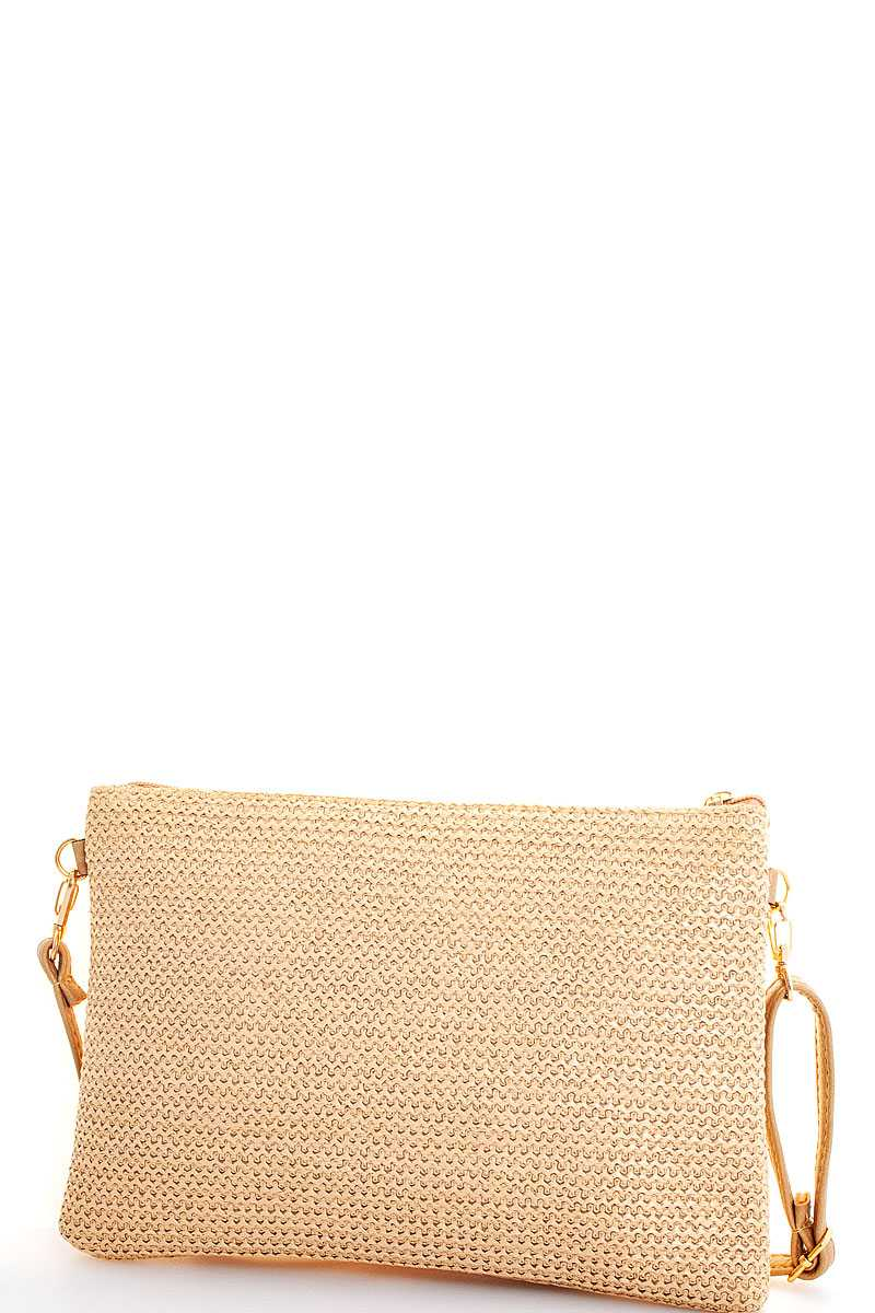 Paraiso Feather Clutch