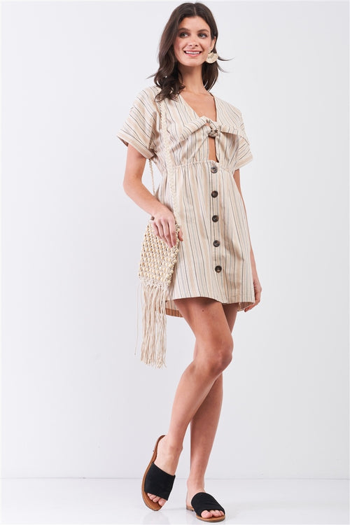 Idaliz Mini Shirt Dress