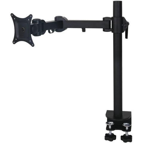 1x LCD Monitor arm Black (10kg Tilt, Swivel, Rotate) - UK Ergonomics