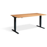 Zero 1400mm Wide - Height Adjustable Desk - UK Ergonomics