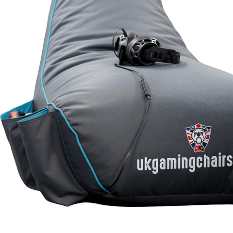 Bulldog Gaming Bean Bag Blue - Junior Size