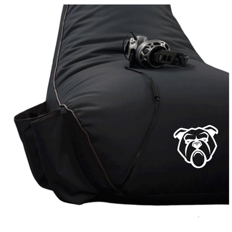Bulldog Gaming Bean Bag Black - Adult Size