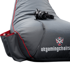 Bulldog Gaming Bean Bag Red - Junior Size