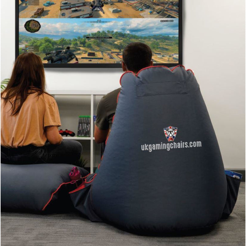 Bulldog Gaming Bean Bag Bundle-Bulldog Bean Bags-UK Gaming Chairs