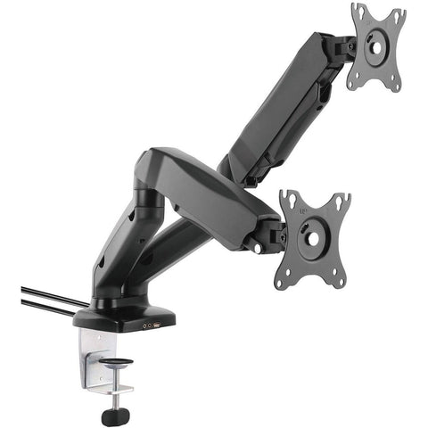 AVU30-series Gas Spring LCD Monitor Arm Stand w/ USB & AV - UK Ergonomics