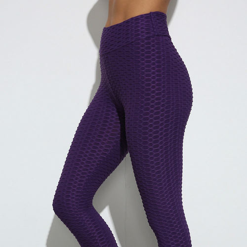 BETTER SHAPE - BOOTY LIFTING Scrunch Leggings (Purple) Leggings Primo Leggings S