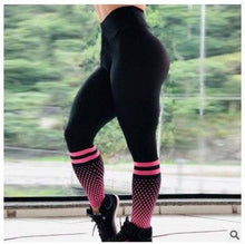 Load image into Gallery viewer, Fashion Lattice Printing Leggings - 2 Colors Leggings Primo Leggings Red XS