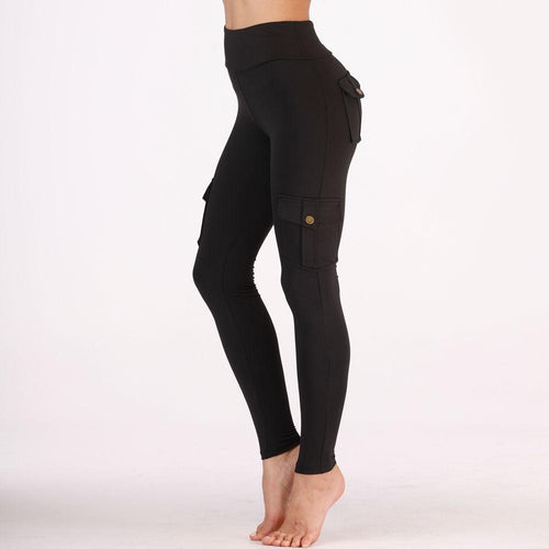 High Waist Fitness Pocket Leggings - 2 Colors Leggings Primo Leggings