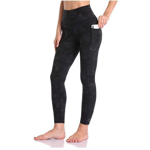 High Waist Pocket Leggings - 4 Colors Leggings Primo Leggings