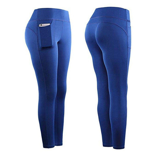 High Waist Stretch Athletic Leggings With Pocket Leggings Primo Leggings