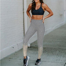 Load image into Gallery viewer, Shiny Seamless Workout Leggings - 3 Colors Leggings Primo Leggings gray S