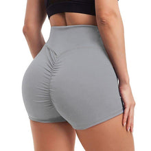 Load image into Gallery viewer, Waistband Skinny Fitness Shorts - Gray Shorts Primo Leggings Gray S
