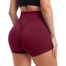 Load image into Gallery viewer, Waistband Skinny Fitness Shorts - Gray Shorts Primo Leggings Wine S