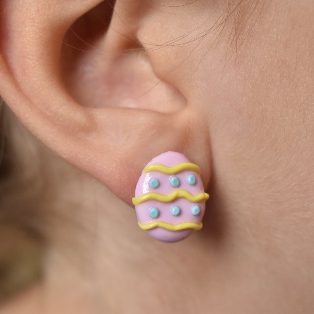 Easter egg Stud Earrings