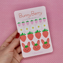 Load image into Gallery viewer, Berry Bunny Sticker Sheet