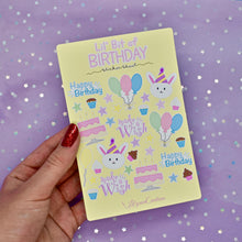 Load image into Gallery viewer, Lil' Bit of Birthday Sticker Sheet