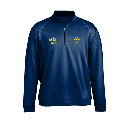AOC Taekwondo Adults Navy Elite Supporter Top