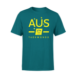 AOC Taekwondo Adults Green Supporter Tee