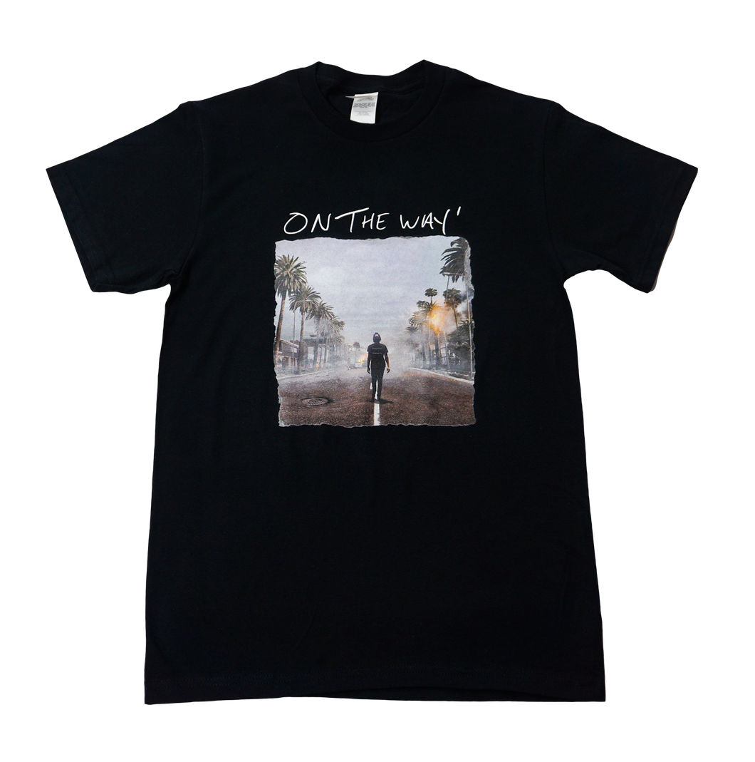On The Way - T-Shirt w/ Album Cover