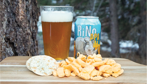 The Creamery Cheddar Cheese Curd and Epic Brewing Co. RiNo American Pale Ale