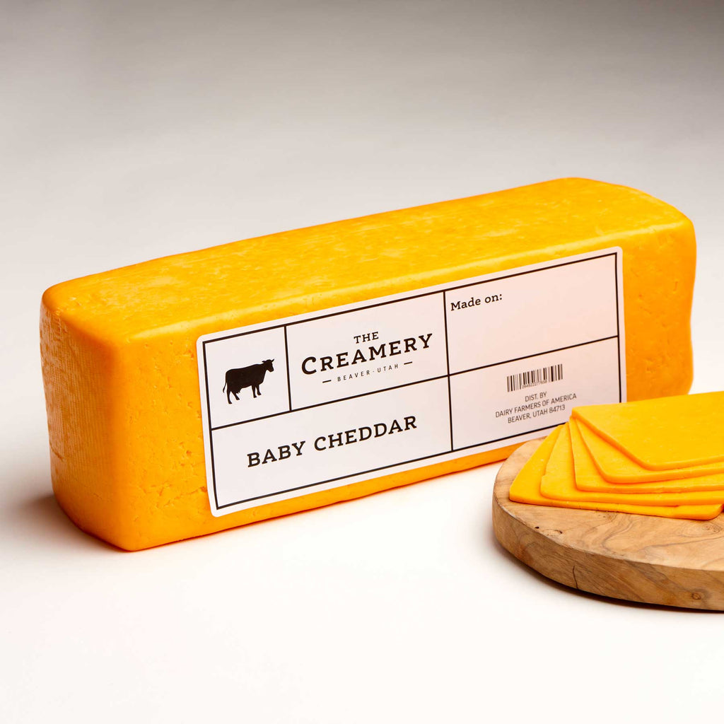 Image of Baby Cheddar 5 pound brick