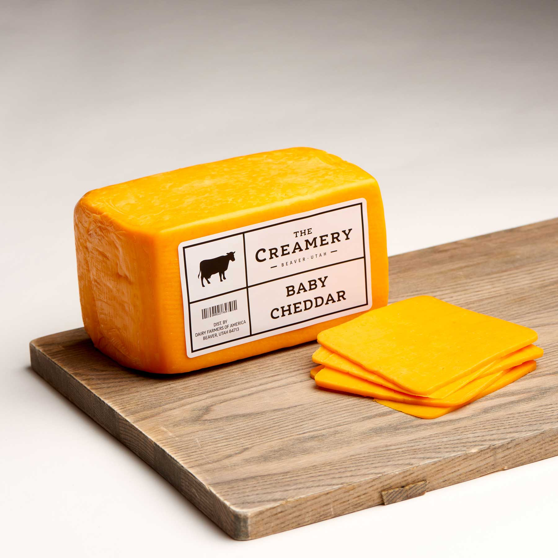 Image of Baby Cheddar 2.5 pound brick
