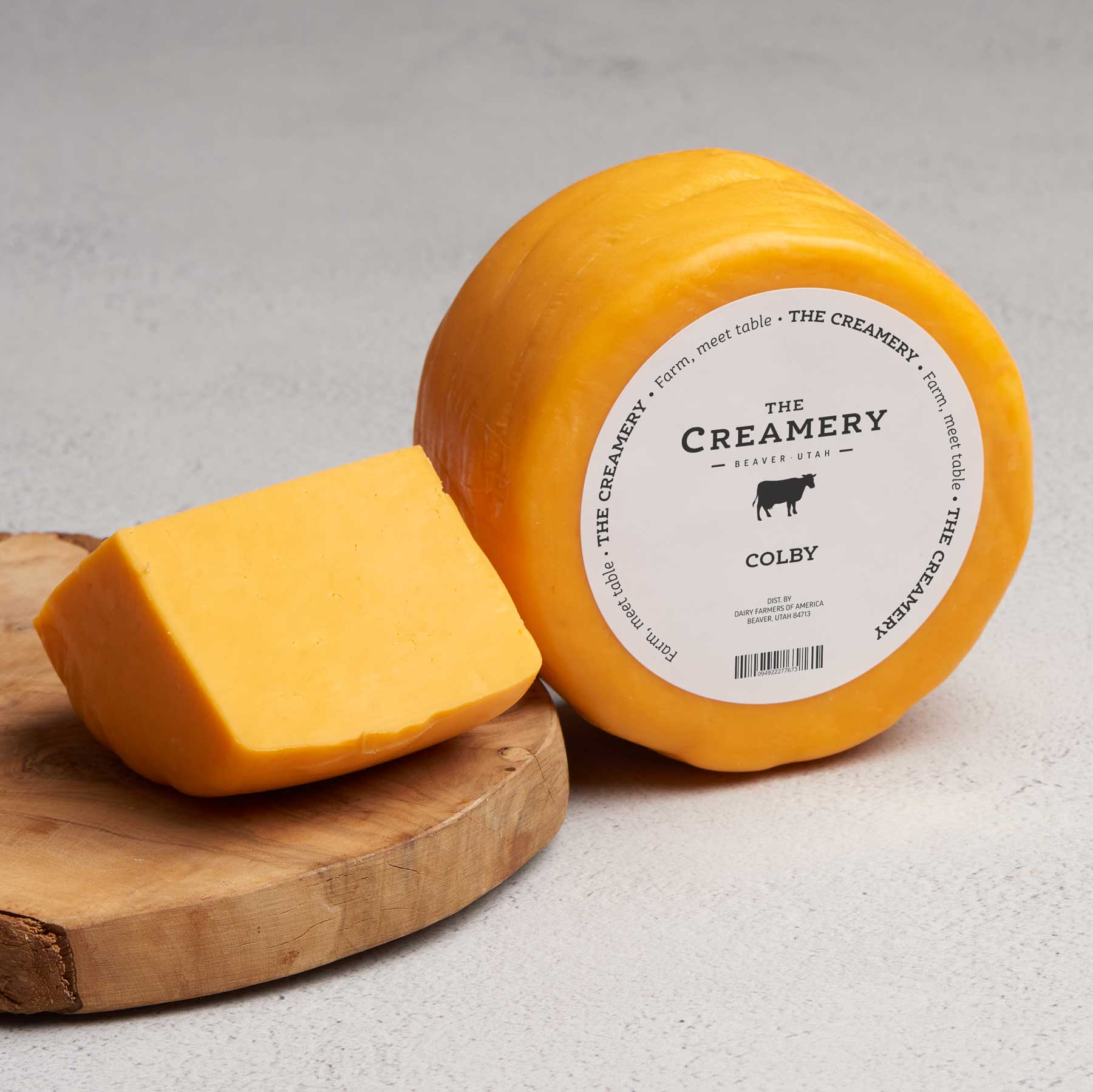 Image of Colby Cheese, 1 pound round