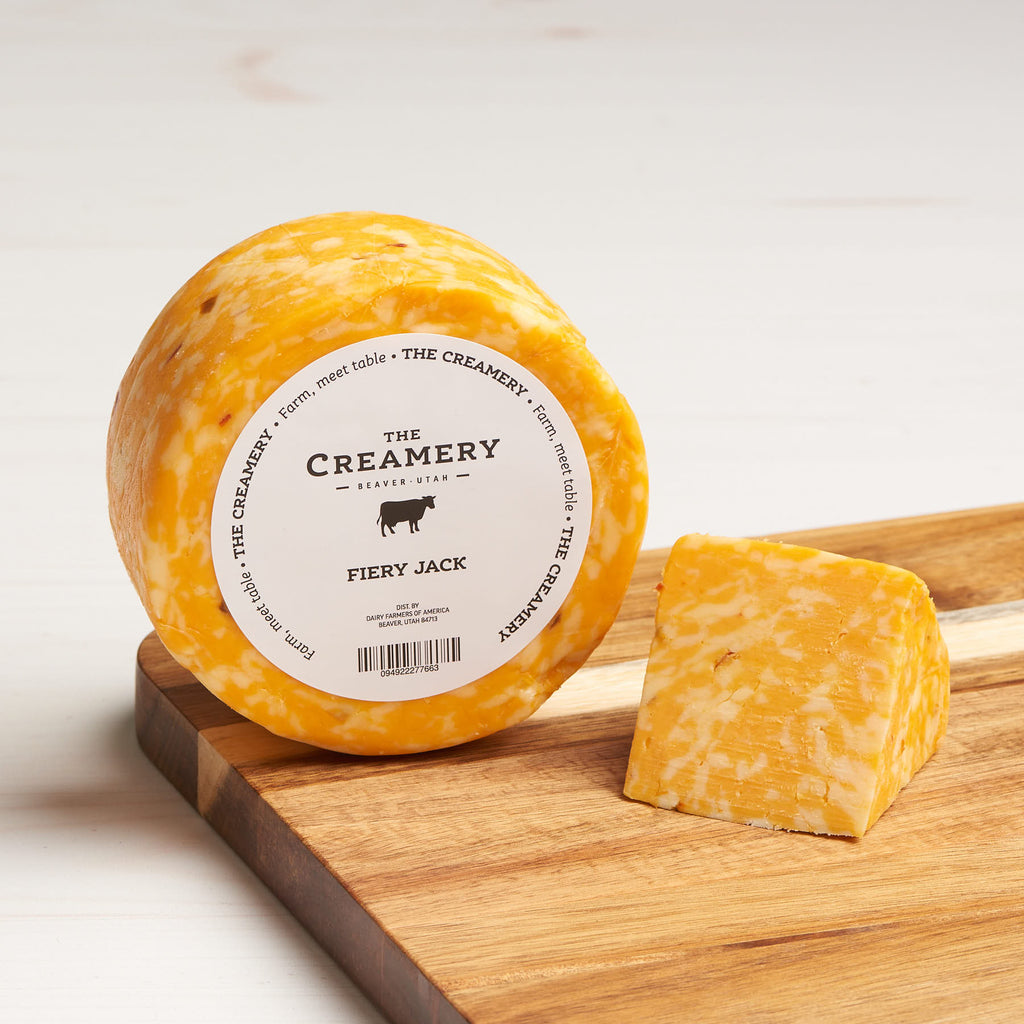image of Fiery Jack cheese, 1 pound round