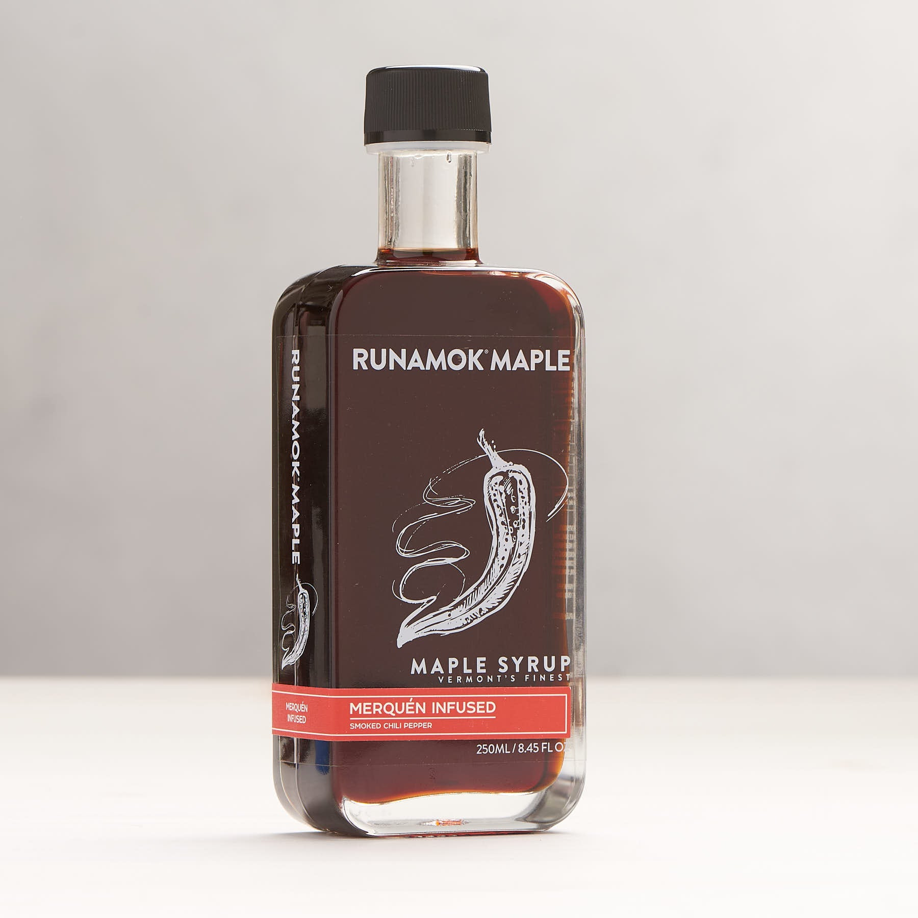 Runamok Maple Merquén Smoked Chili Pepper Infused Maple Syrup