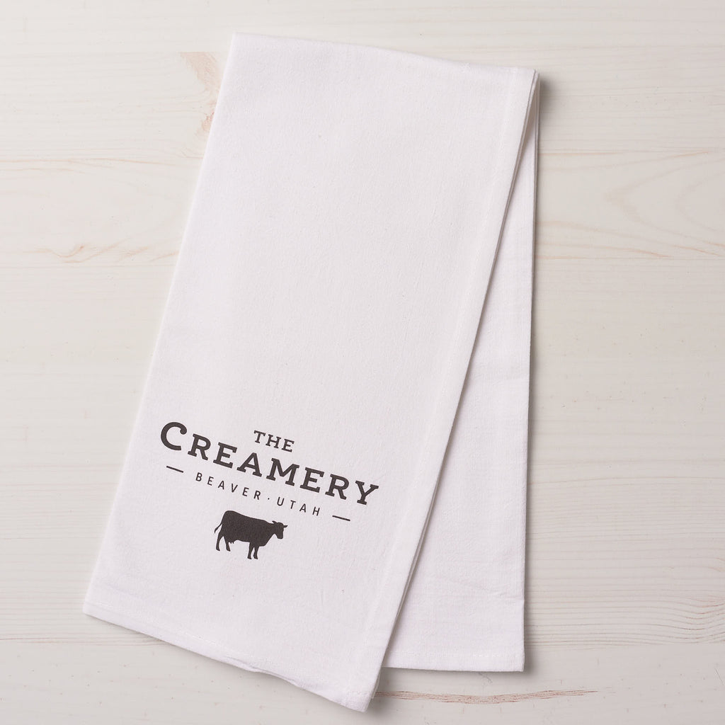 Flour Sack Towel, The Creamery