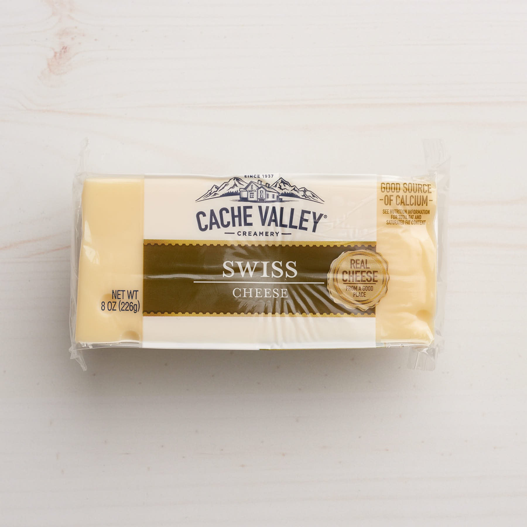 Image of Cache Valley Creamery Swiss Cheese