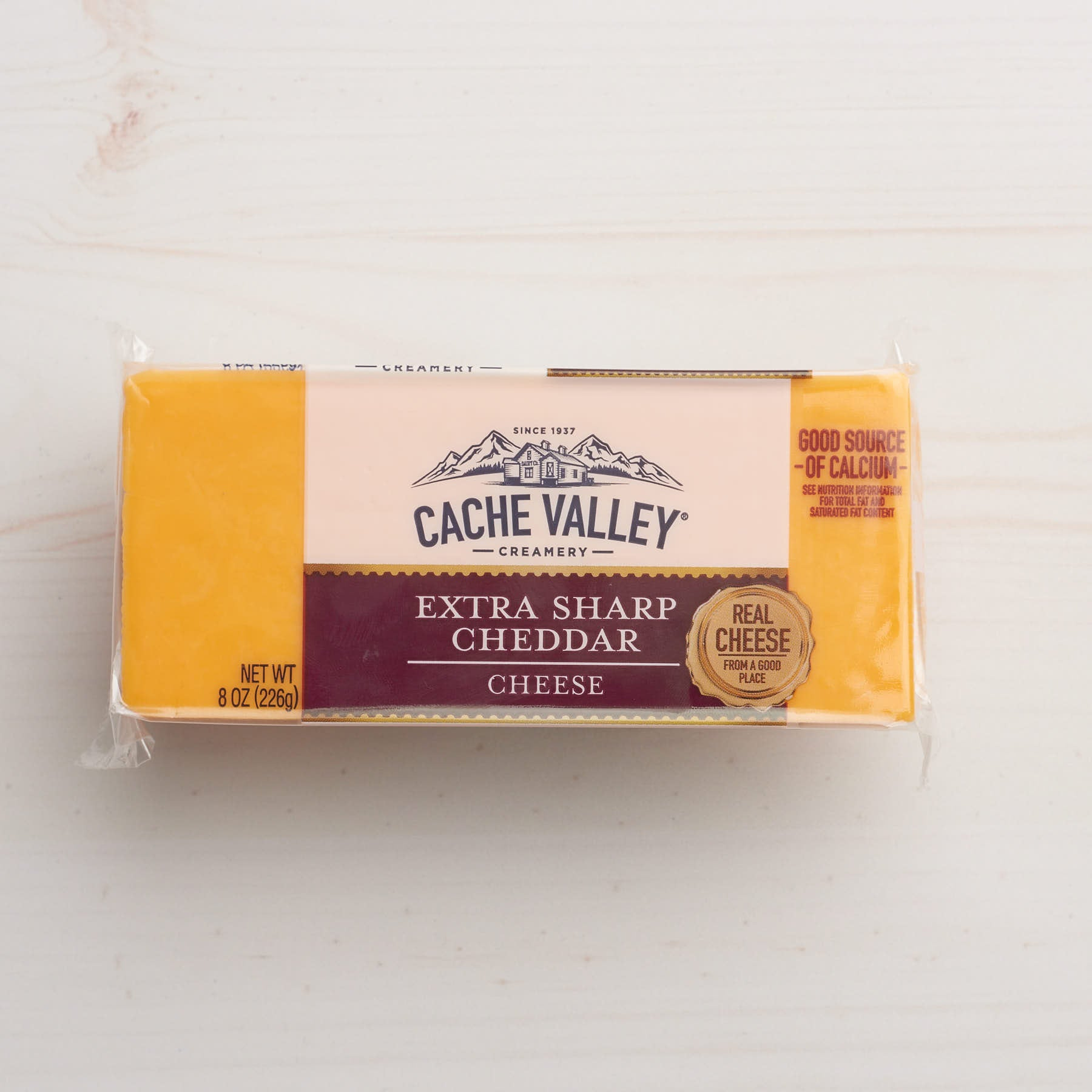 Image of Cache Valley Creamery Extra Sharp Cheddar Cheese