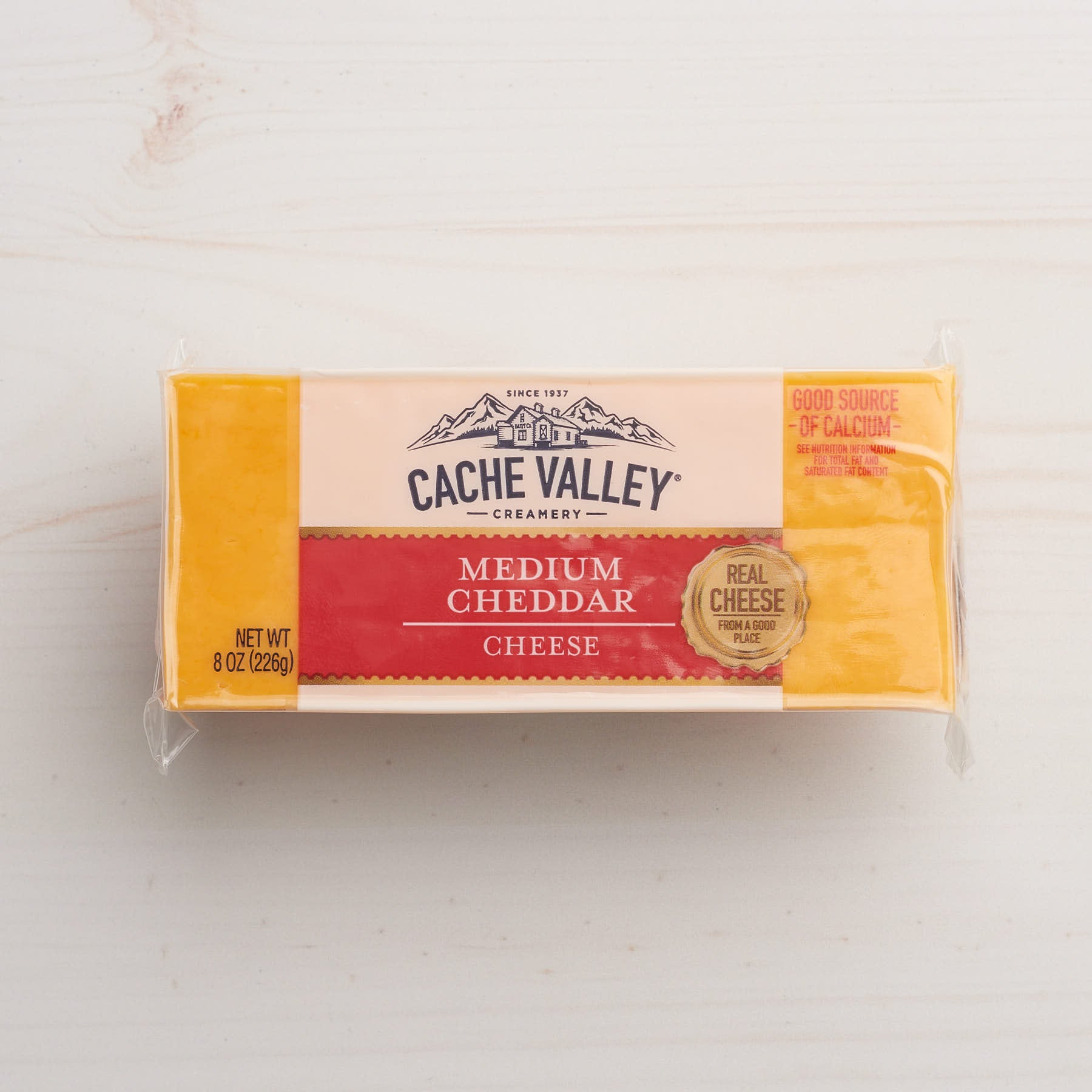 Image of Cache Valley Creamery Medium Cheddar Cheese