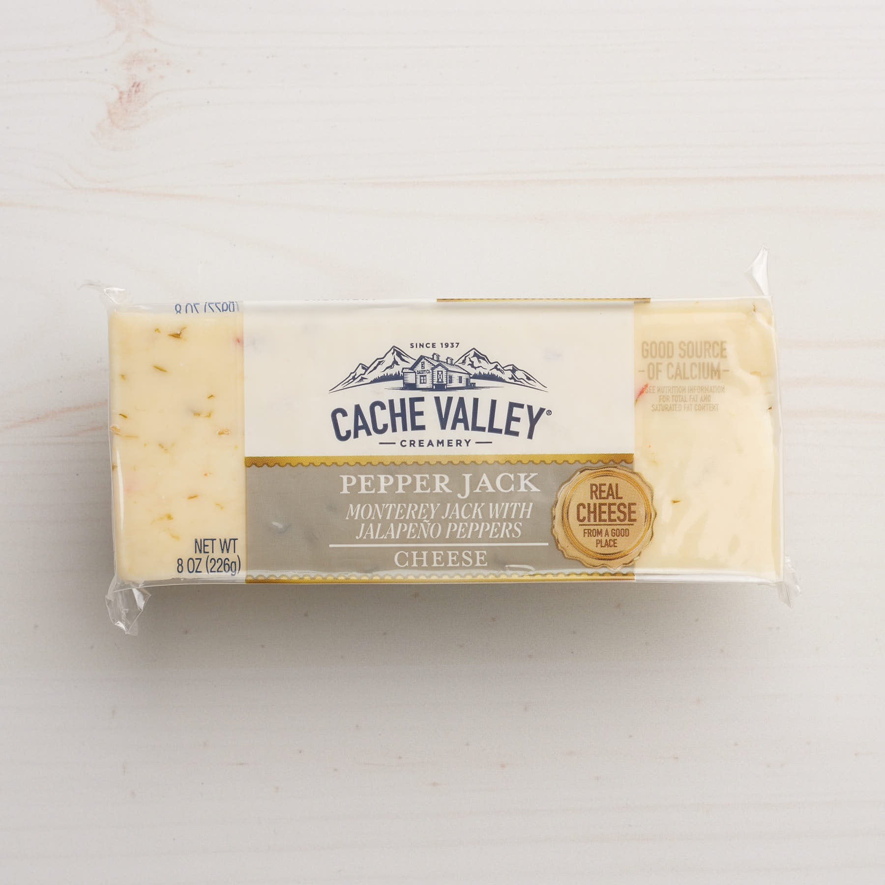 Image of Cache Valley Creamery Pepper Jack Cheese