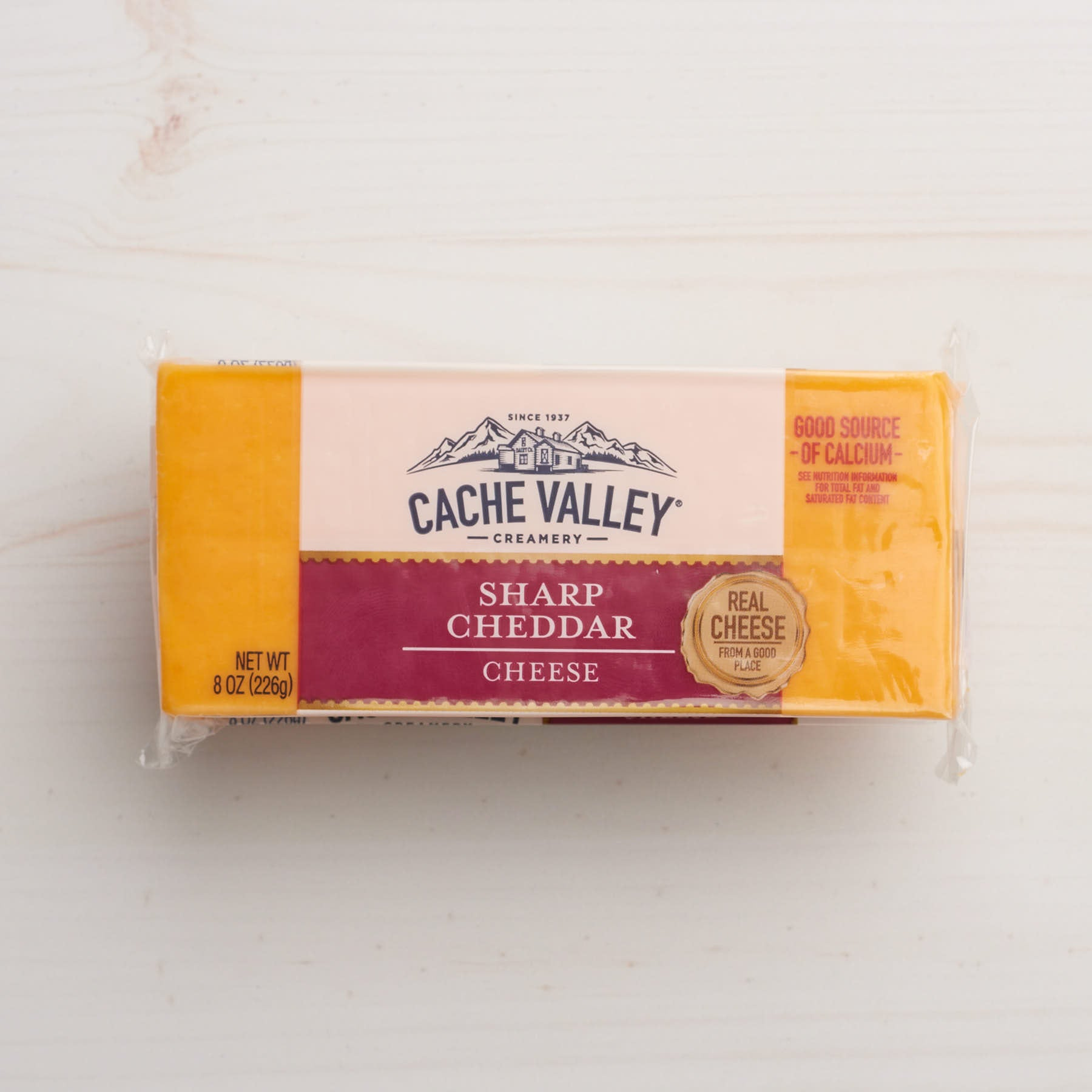 Image of Cache Valley Creamery Sharp Cheddar Cheese