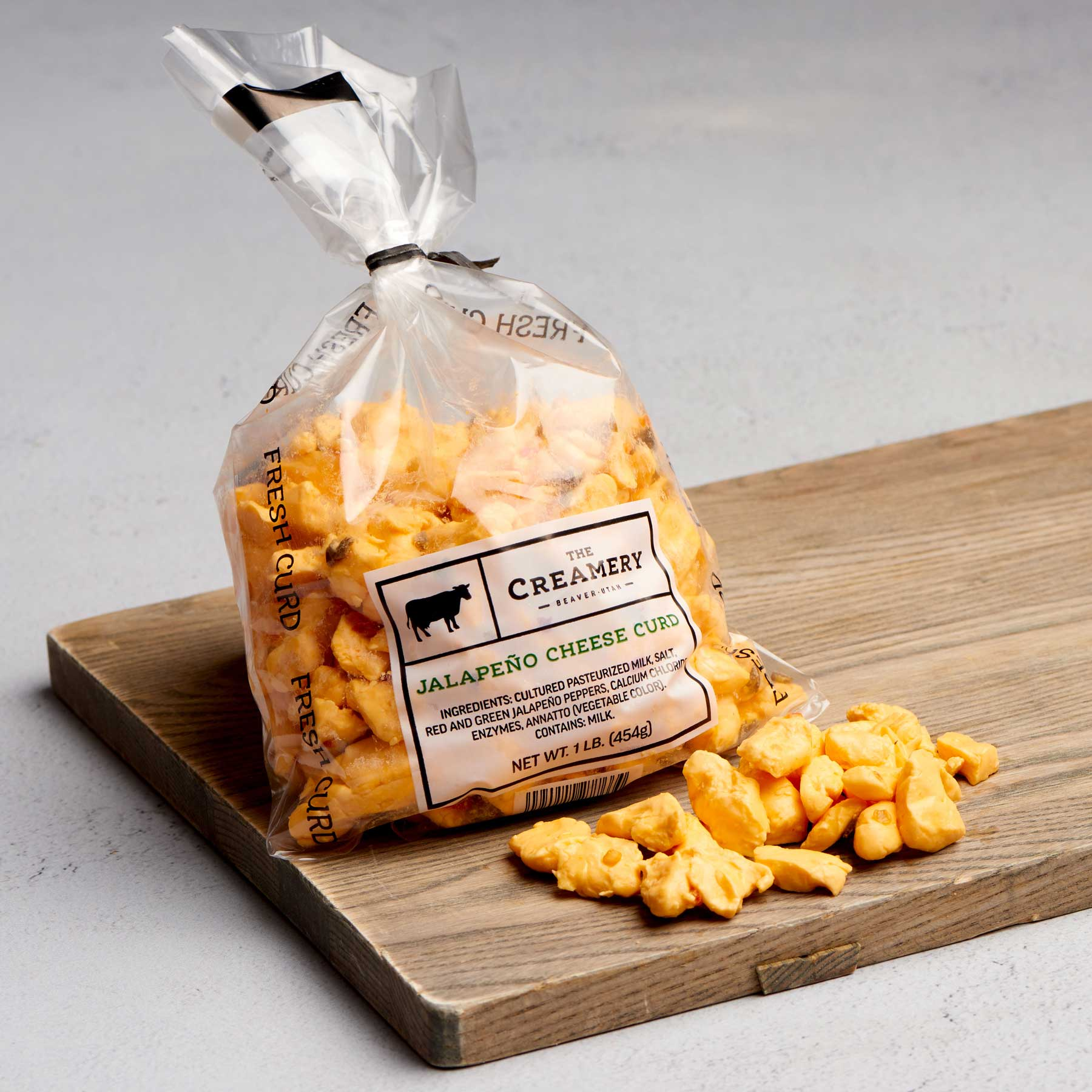 Image of Jalapeño Cheddar Curd 1 pound bag