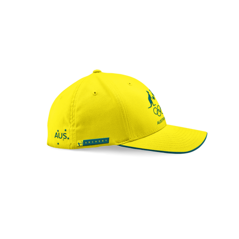 AOC Archery Adults Cap Yellow