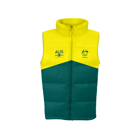 AOC Archery Adults Green Supporter Vest