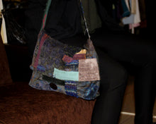 Load image into Gallery viewer, Upcycled crossbody bag