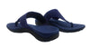 Alexa Orthotic Flip Flops - Navy