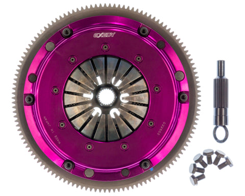 Exedy 1986-1989 Mazda RX-7 R2 Hyper Single Carbon-R Clutch Rigid Disc Push Type Cover