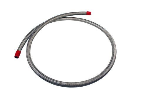 Aeromotive SS Braided Fuel Hose - AN-08 x 4ft