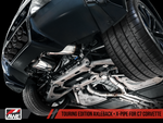 AWE Tuning 14-19 Chevy Corvette C7 Z06/ZR1 (w/o AFM) Touring Edition Axle-Back Exhaust w/Chrome Tips